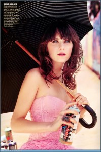 zooey time!